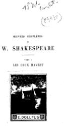 William Shakespeare : Œuvres complètes de Shakespeare