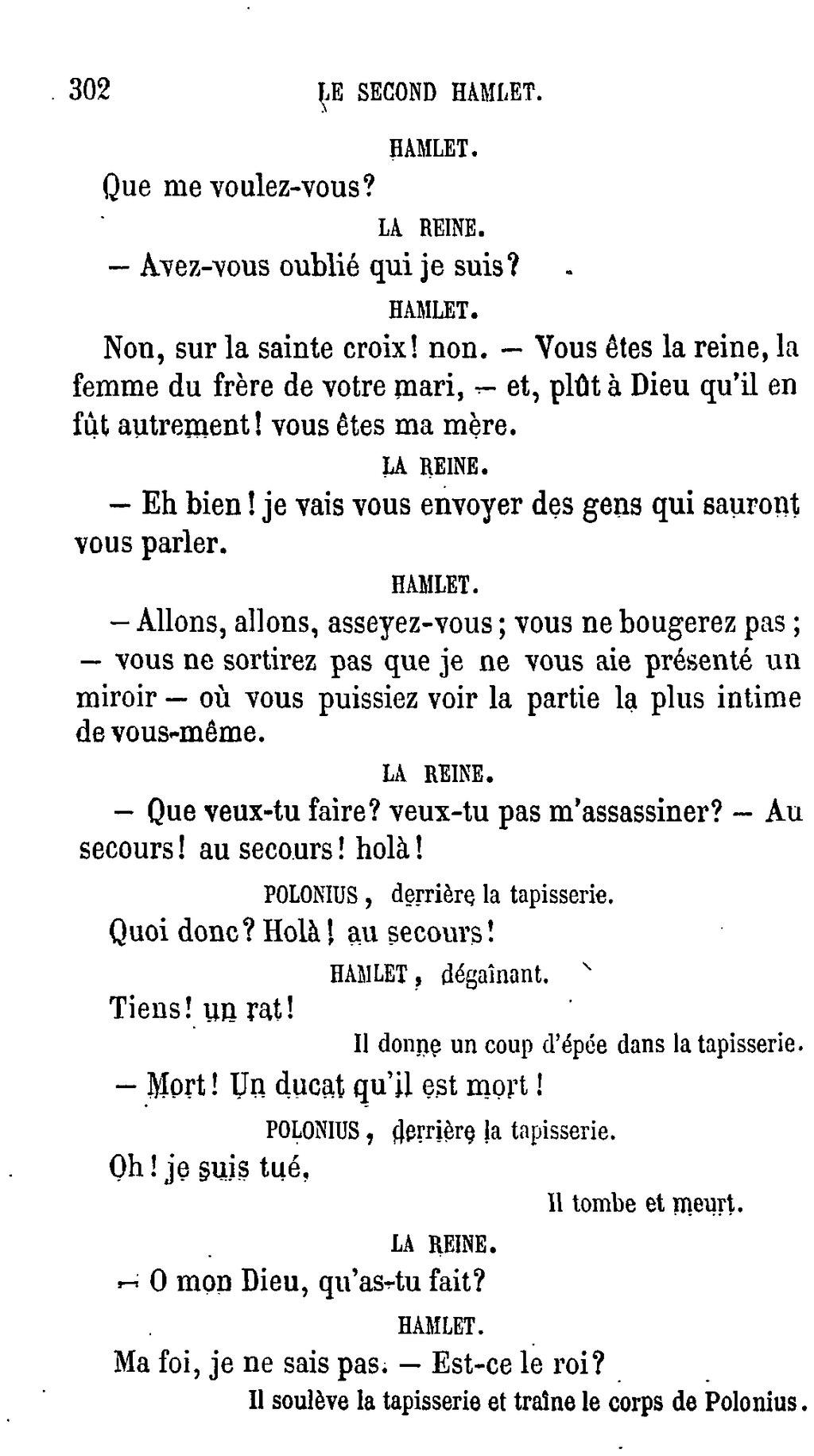 Page shakespeare uvres compl tes traduction hugo - Qu est ce que la tapisserie de bayeux ...