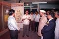 Shankar Dayal Sharma Visits Indian Heritage Exhibition - Dedication Ceremony - CRTL and NCSM HQ - Salt Lake City - Calcutta 1993-03-13 09.tif