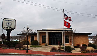 Shelbyville, Tennessee - Shelbyville City Hall.