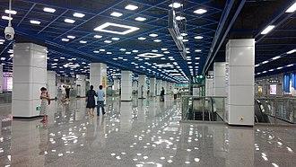 Hongshuwan South station - Concourse