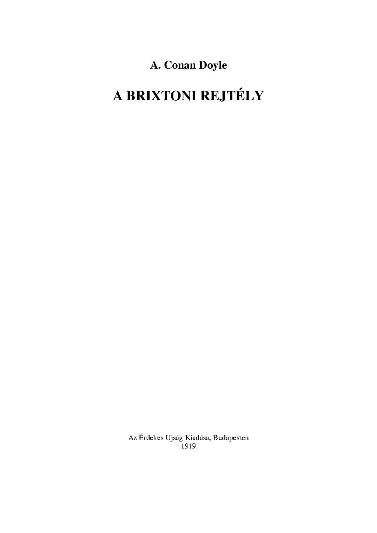 File Sherlock Holmes A Brixtoni Rejtely 1887 Pdf Wikimedia Commons