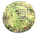 Shilling of James I - Counterfeit (YORYM-1995.109.08) reverse.jpg