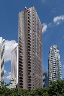 Shinjuku Center Building Skyscraper in Tokyo, Japan