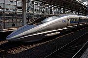 Japanese Shinkansen 500 Series (High-speed rail)