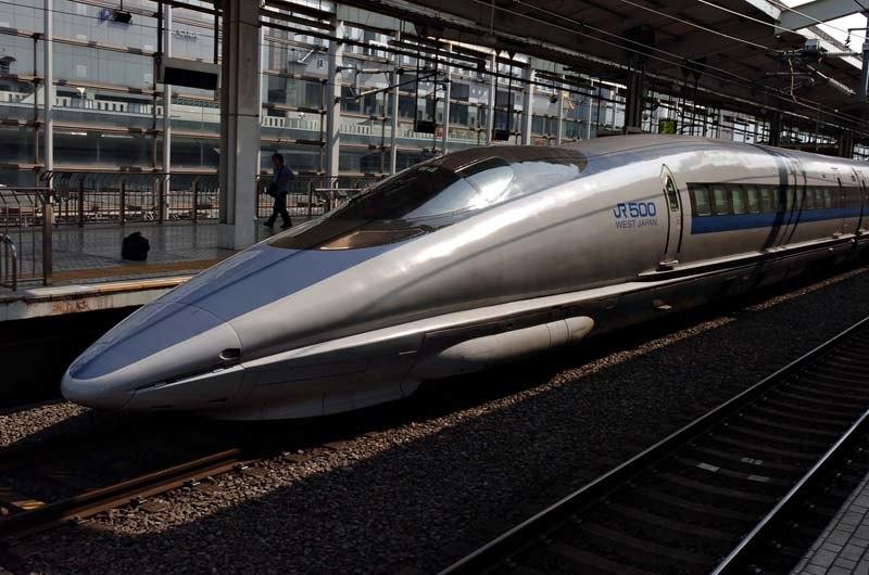 Shinkansen 500 Kyoto 2005-03-19