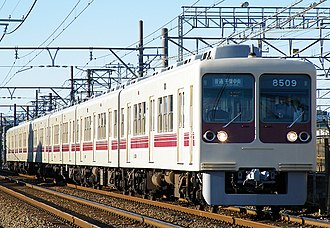 Shin-Keisei Electric Railway - Image: Shinkeisei 800