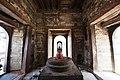 Shiva linga inside Pandra Shivalaya -Pashupatinath Temple-1899.jpg