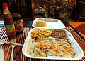 Shrimp and Crab Étouffée plate lunch Dwyers Cafe HRoe 2013.jpg