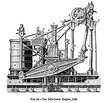 Side-lever engine 1849