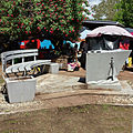 Side view of HMAS Canberra memorial, Police Memorial Park, Rove Honiara Solomon Islands.jpg