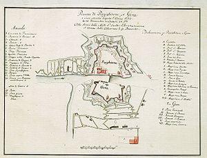 Siege of Pizzighettone - Image: Siege Of Pizzighetone 1733