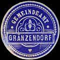 Siegelmarke Gemeindeamt Gränzendorf-Böhmen W0312798.jpg