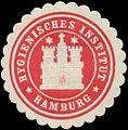 Siegelmarke Hygienisches Institut (Hygiene) Hamburg W0393127.jpg