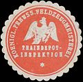 Siegelmarke K.Pr. Feldzeugmeisterei Traindepot-Inspektion W0370712.jpg