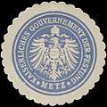 Siegelmarke K. Gouvernement der Festung Metz W0379164.jpg