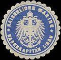 Siegelmarke K. Marine Hafenkapitän Libau W0357519.jpg