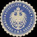 Siegelmarke K. Marine Kommando S.M.S. Kronprinz W0363972.jpg