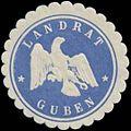 Siegelmarke Landrat Guben W0365013.jpg