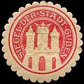Siegelmarke Siegel der Stadt Guben W0260577.jpg