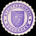 Siegelmarke Stadtkämmerei - Nordenham W0229368.jpg