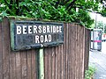 Sign, Beersbridge Road, Belfast - geograph.org.uk - 877886.jpg