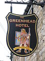 Sign for the Greenhead Hotel - geograph.org.uk - 749133.jpg