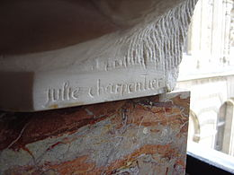 Signature Julie Charpentier (buste du Dominiquin).JPG