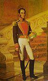 Simón Bolívar, protagonist of the novel