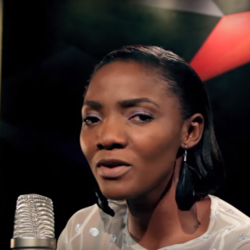 Simi singer from Nigeria born 1988 at NdaniTV session.png