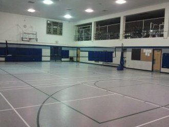 Catholic Central High School (London, Ontario) - 200pxThe single gym of Catholic Central, located on second floor.