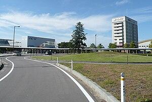 Shinjō Station - Shinjō Station East Entrance