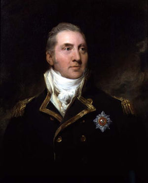Edward Pellew, 1st Viscount Exmouth - Edward Pellew in uniform