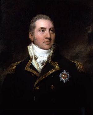 Edward Pellew, 1st Viscount Exmouth - Edward Pellew in uniform