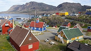 Sisimiut Place in Greenland, Kingdom of Denmark