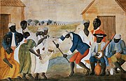 Slaves on a Virginia plantation, c. 1790