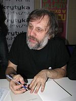Slavoj Zizek is one example of contemporary philosophers influenced by Schelling's philosophy.[42] (Source: Wikimedia)