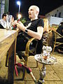 Slim with a hookah in Haifa - Stierch.jpg