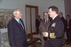 Slobodan Milosevic and Joseph Lopez 330-CFD-DF-SD-03-00767