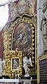 Slovénie, Ljubljana, Cathédrale Saint-Nicolas (Stolnica svetega Nikolaja), l'Ascension du Christ par Giulio Quaglio, 1704 et Anges sculptés de Paolo et Giuseppe Groppelli , 1711 (46057645482).jpg