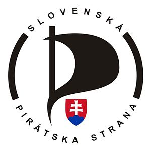 Pirate Party of the Slovak Republic - Image: Slovakpirateparty