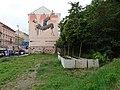 Smíchov, Plzeňská 20, betonové květináče (01).jpg