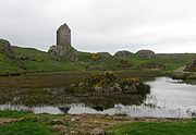 Scott's childhood at Sandyknowes, close to Smailholm Tower, introduced him to tales of the Scottish Borders.