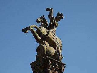 Socha svatého Jiří