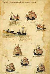 Sodre squadron of 1502 Armada (Livro das Armadas)