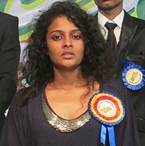 Sonia Deepti in the 9th Annual Day celebrations of Rainbow Concept School, Mahabubnagar, Telangana State (cropped).jpg