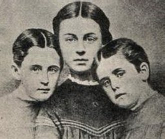 Rebecca Sophia Clarke - Clarke's nieces; the inspiration for Prudy, Susy, and Dotty Dimple.