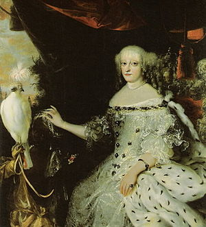 Sophie Amalie of Brunswick-Lüneburg - Portrait by Abraham Wuchters, c. 1670