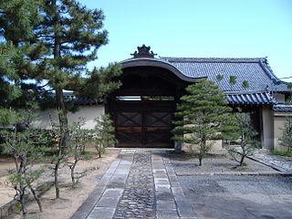 a sub-temple (Tatchū) of Daitoku-ji, Kyoto, Japan