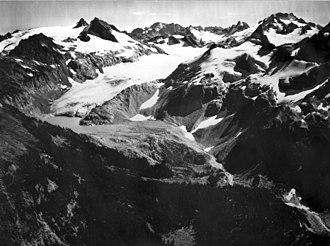 South Cascade Glacier - South Cascade Glacier on September 23, 1965